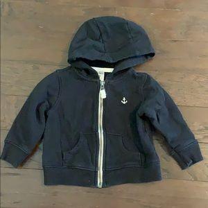 3 items/ $15 - Black ZipUp Hoodie